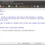 3 easy steps to retain brightness level in Ubuntu after reboot